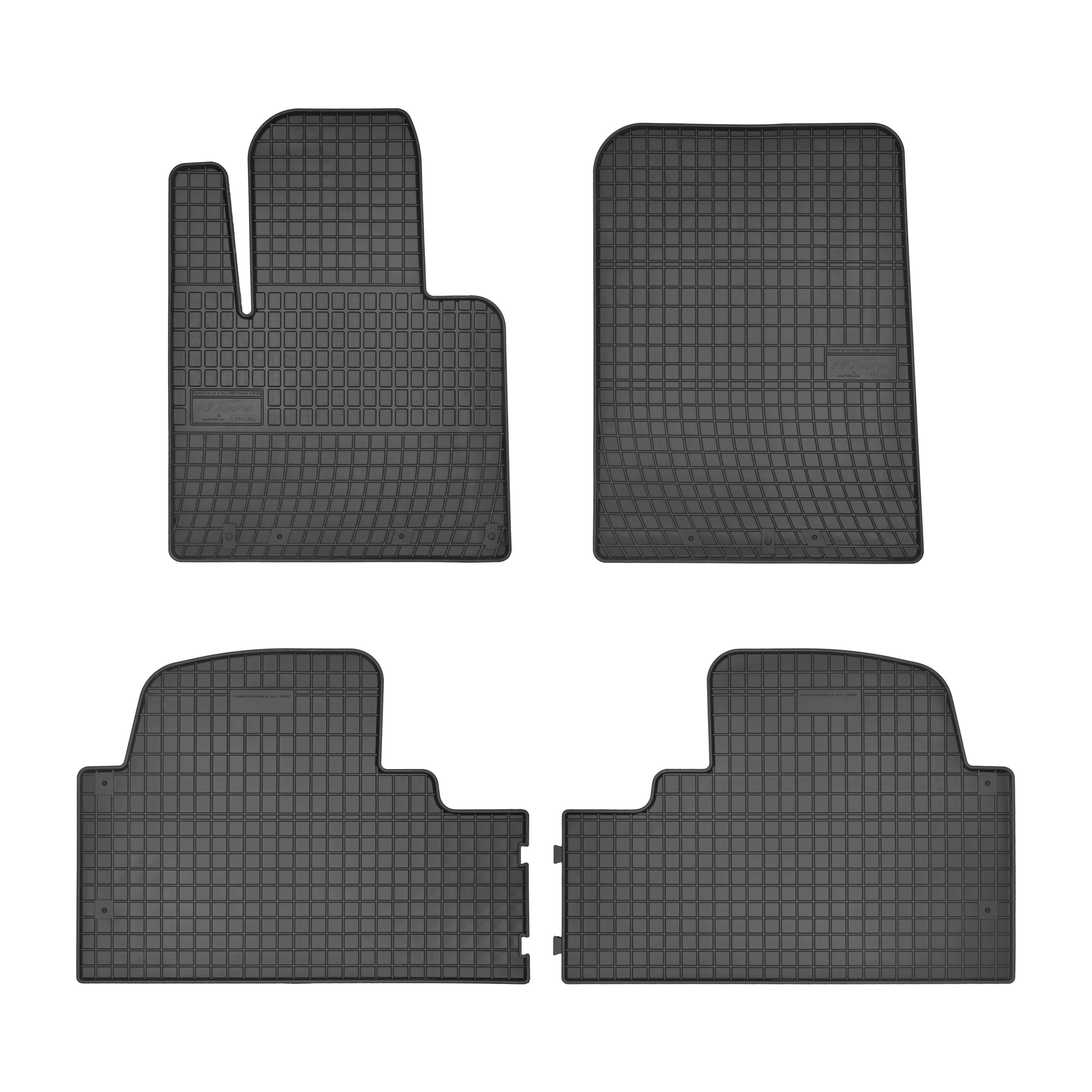 Autorohože gumové FROGUM - Hyundai SANTA FE 2015 -