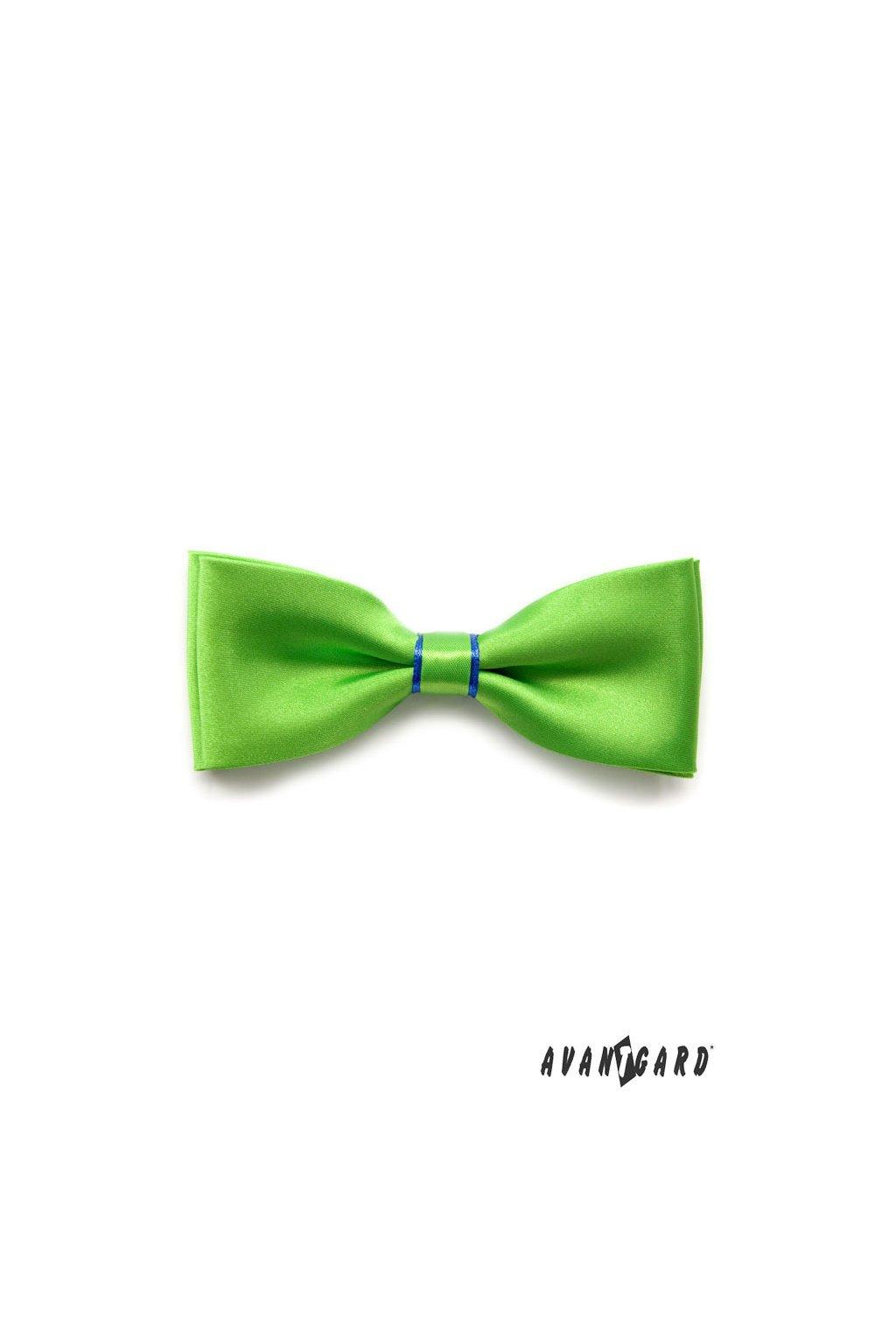 Motýlek s kapesníčkem, 575-0813, Zeleno-modrá