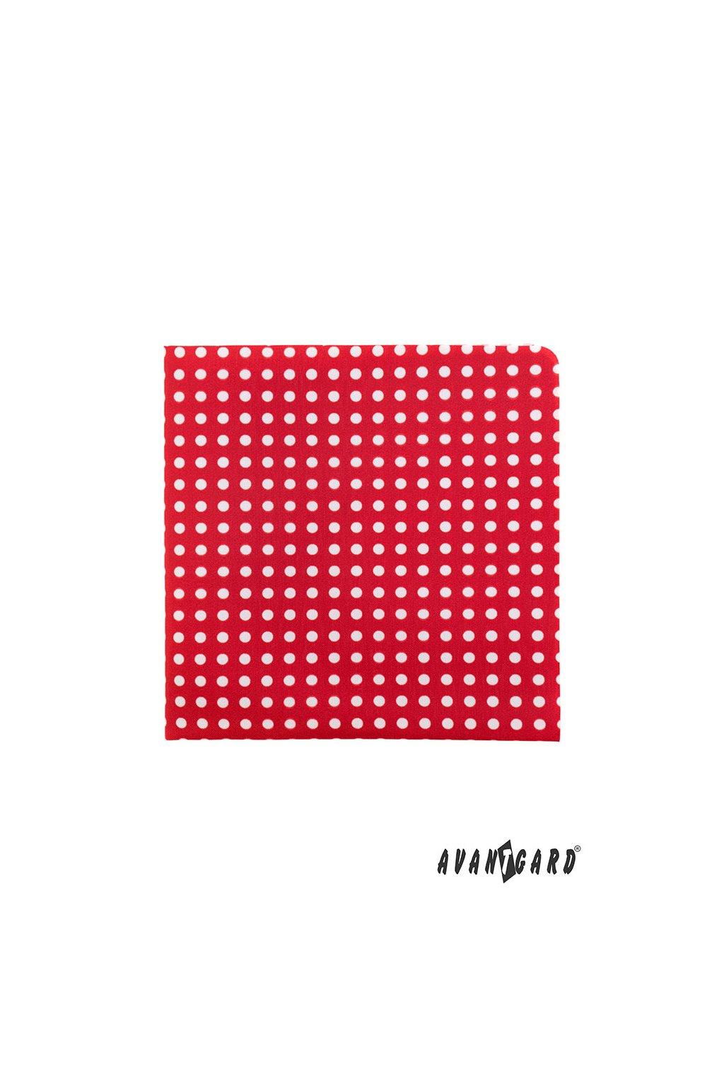 Kapesníček do saka LUX, 583-1962, Červená