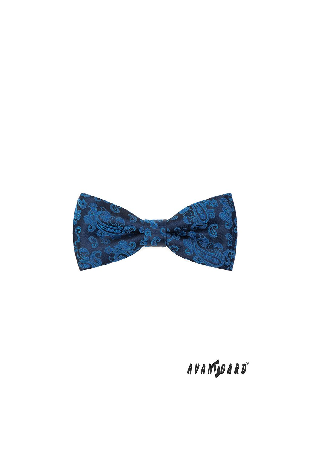 Motýlek s kapesníčkem, 575-22066, Modrá