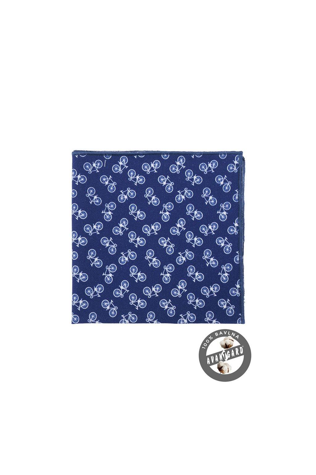 Kapesníček do saka LUX, 583-250, Modrá/Cyklistika