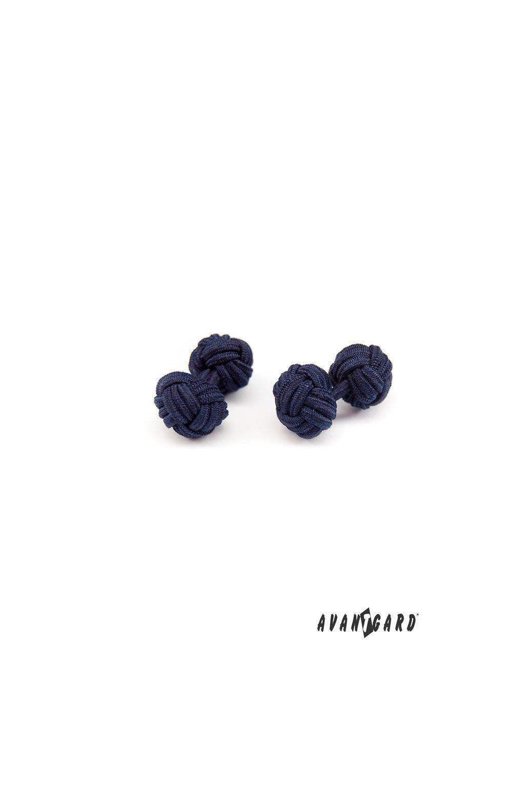 Knots - manžetové uzlíky, 614-31, Modrá