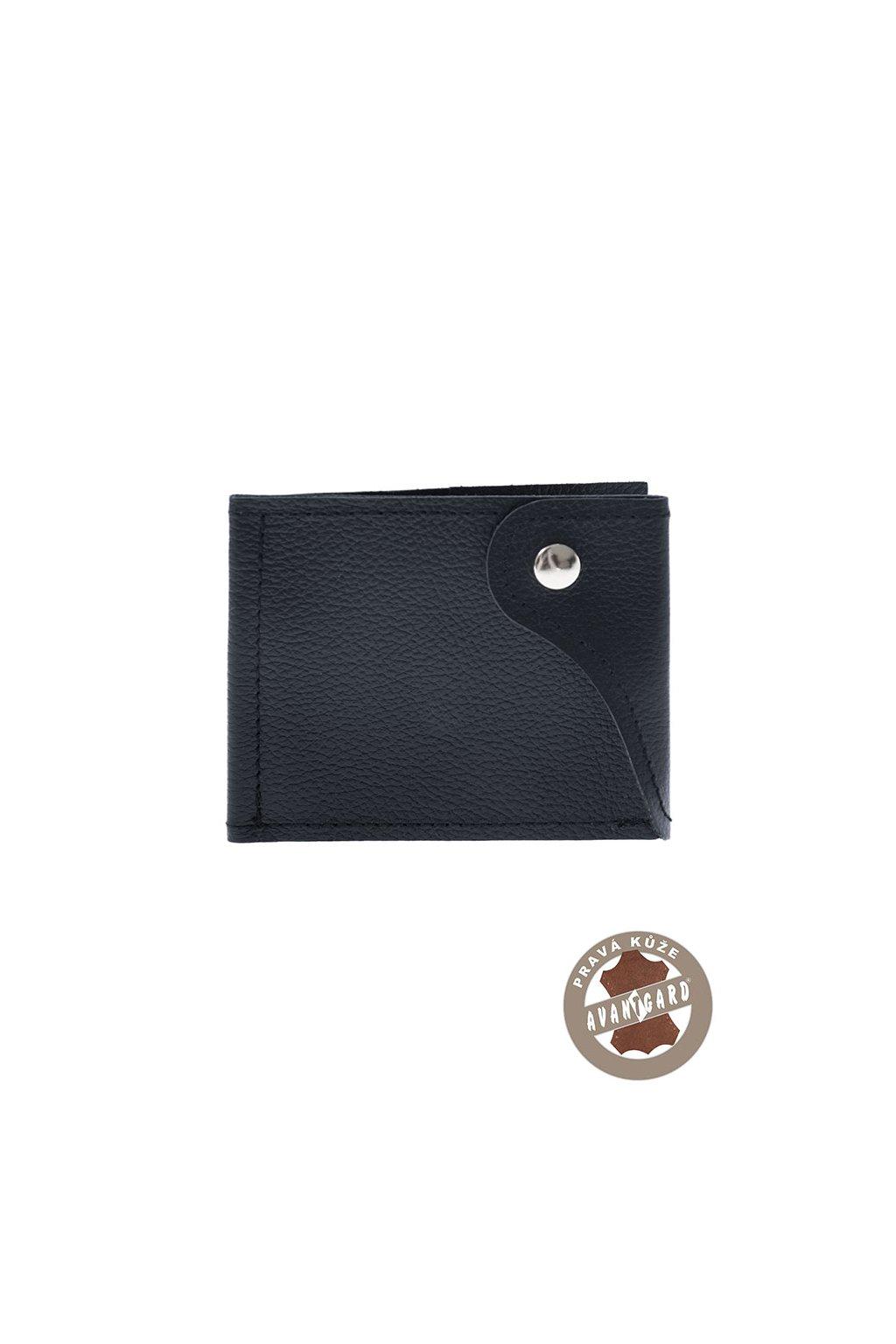 Pánská peněženka z pravé kůže, 800-31, Modrá