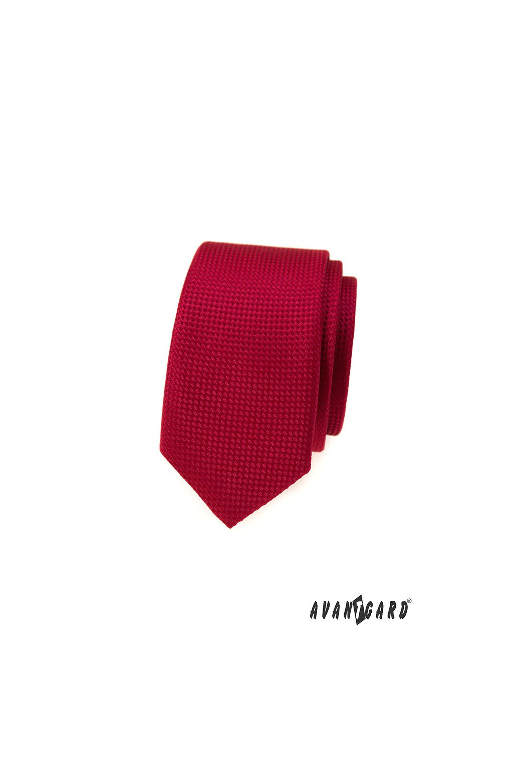 Kravata SLIM, 551-373, Červená
