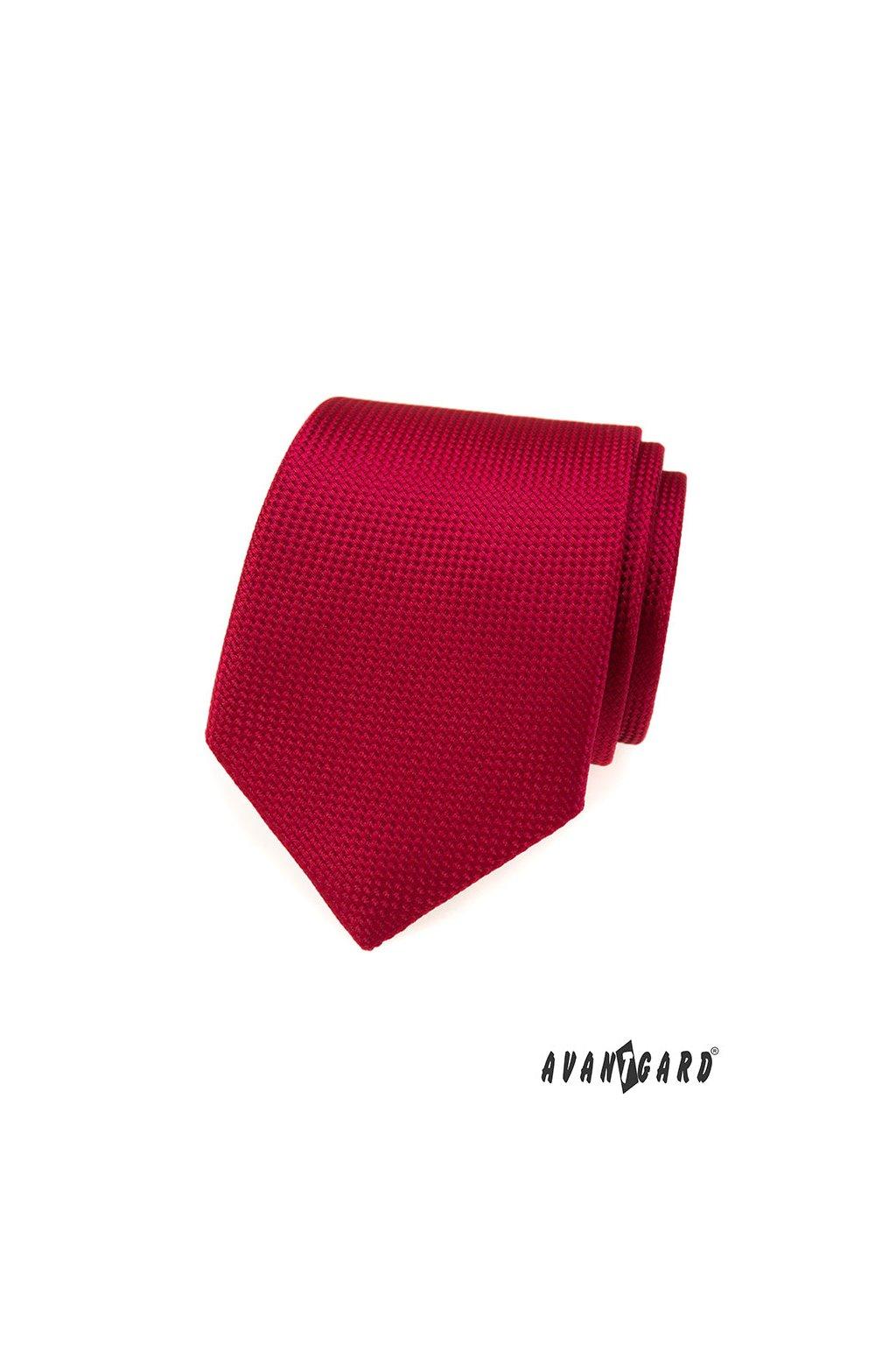 Kravata, 559-373, Červená