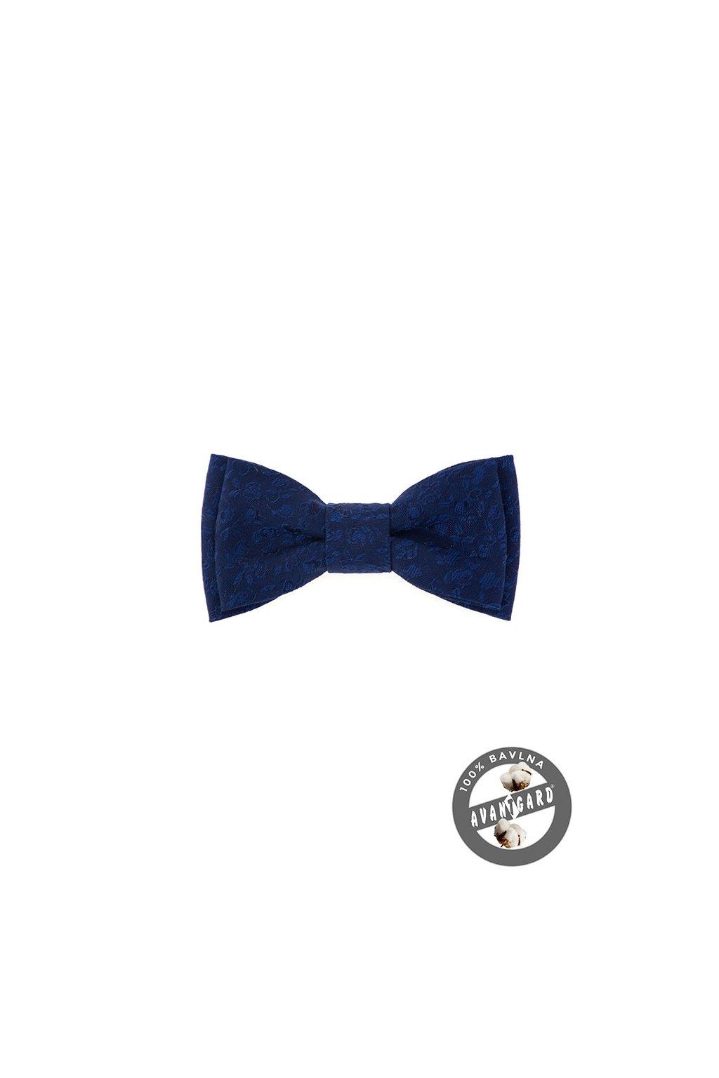 Motýlek MINI bavlněný, 531-51006, Modrá