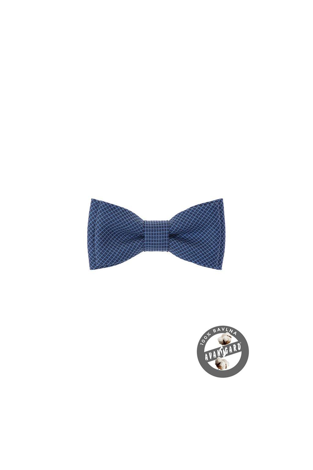 Motýlek MINI bavlněný, 531-51010, Modrá