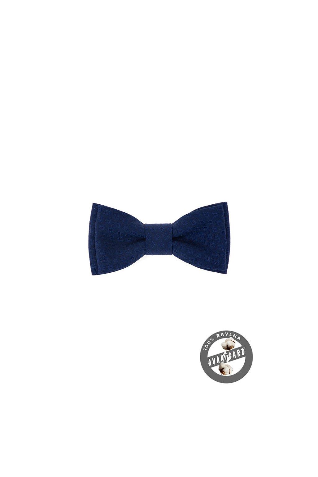 Motýlek MINI bavlněný, 531-51011, Modrá