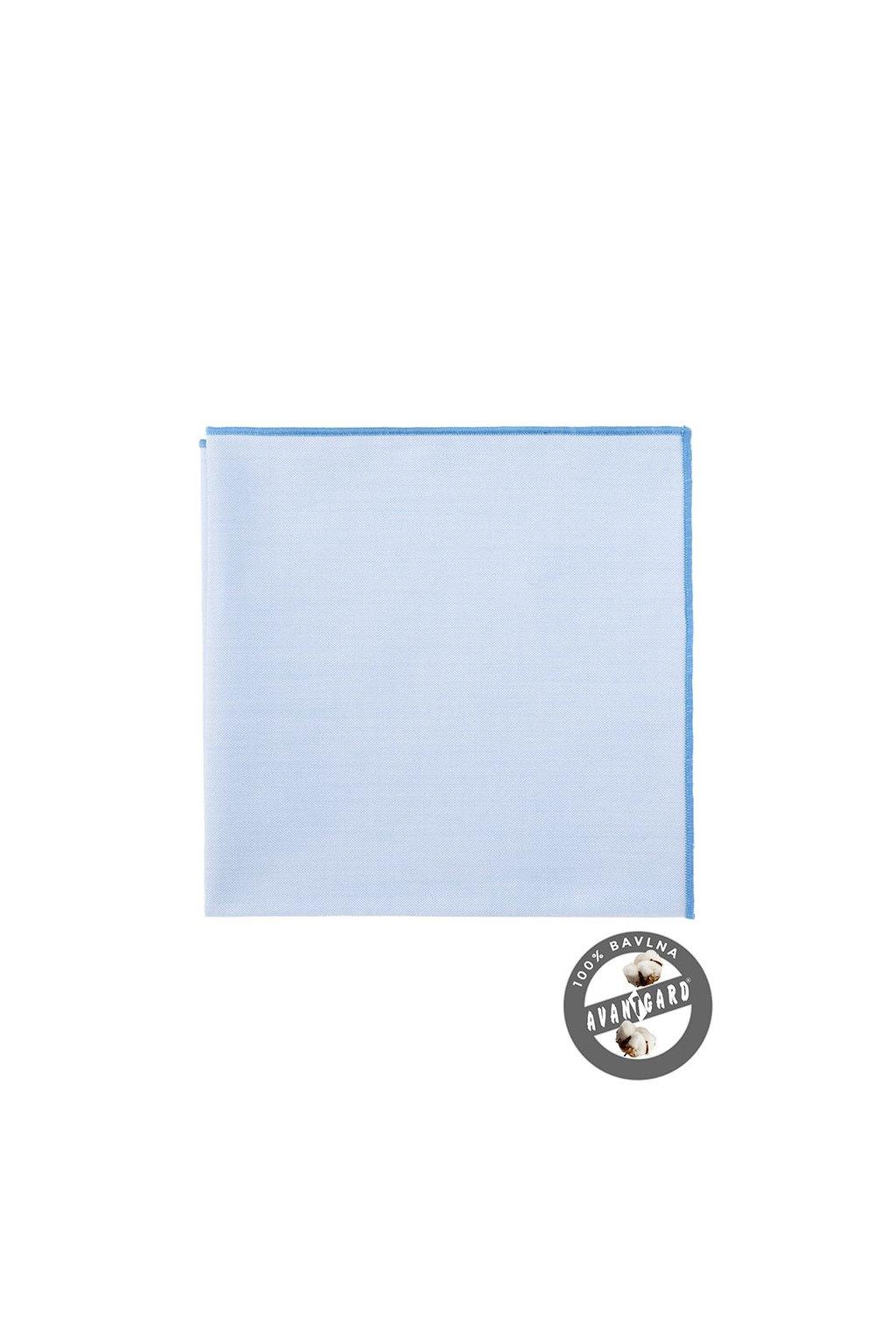 Kapesníček do saka LUX, 583-5177, Modrá
