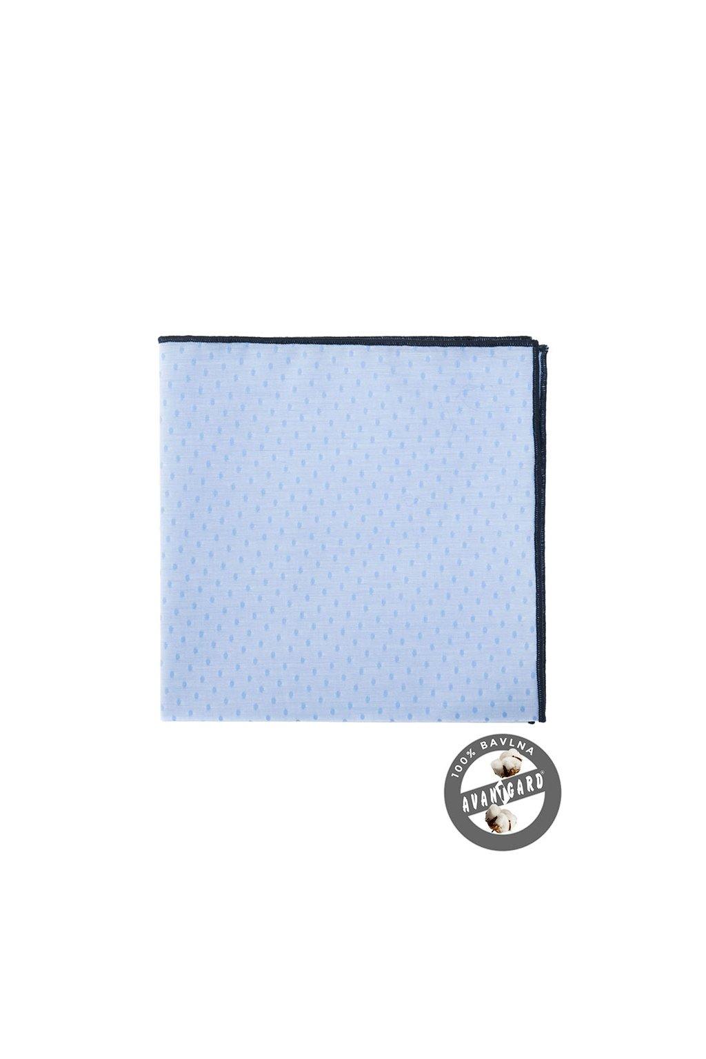 Kapesníček do saka LUX, 583-5179, Modrá