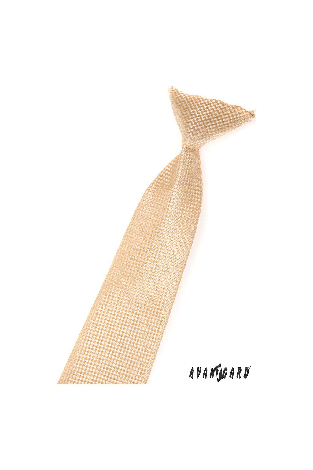 Chlapecká kravata, 558-474, Béžová