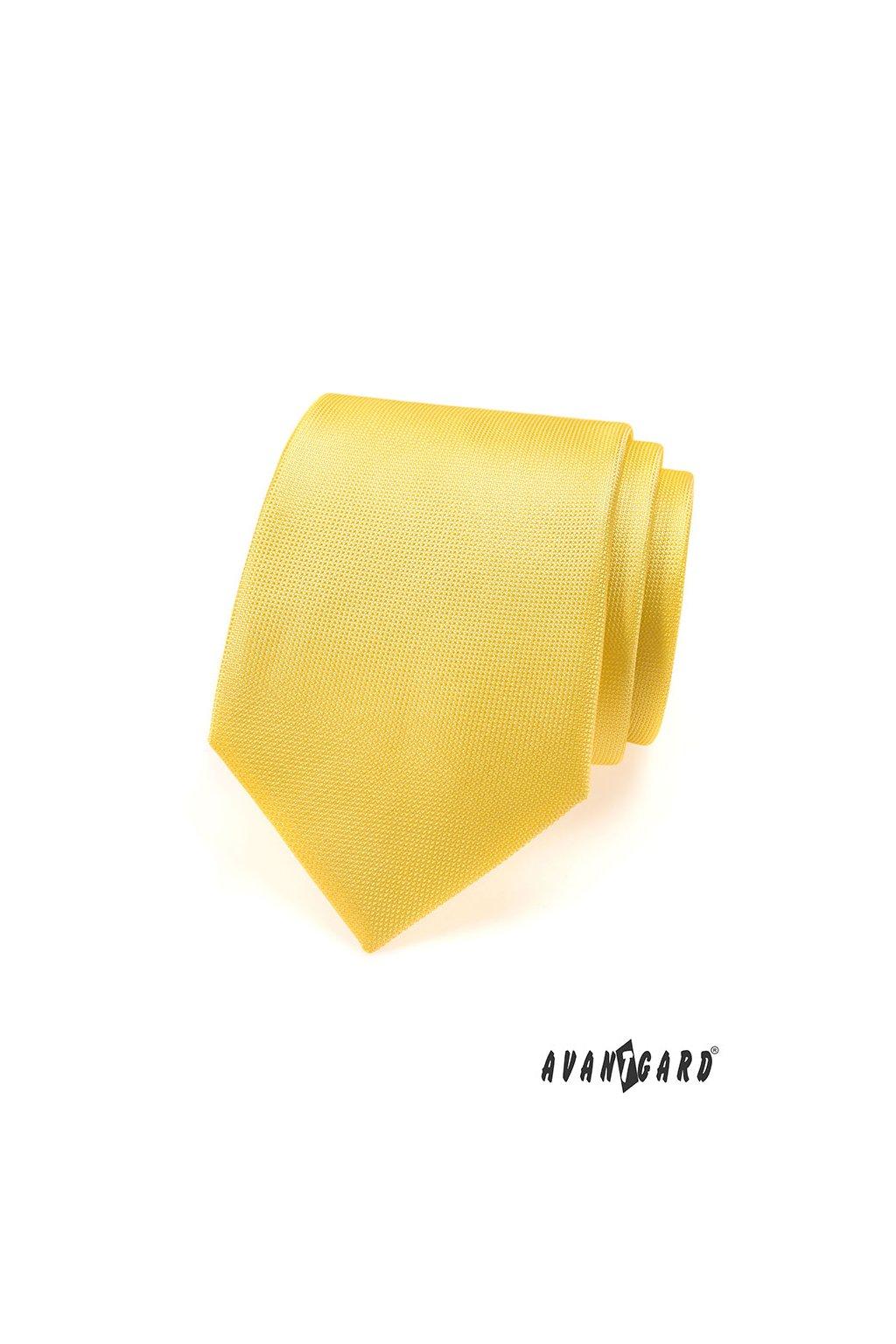 Kravata, 559-490, Žlutá