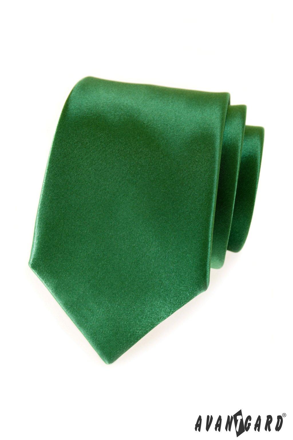 Kravata LUX, 561-9023, Zelená