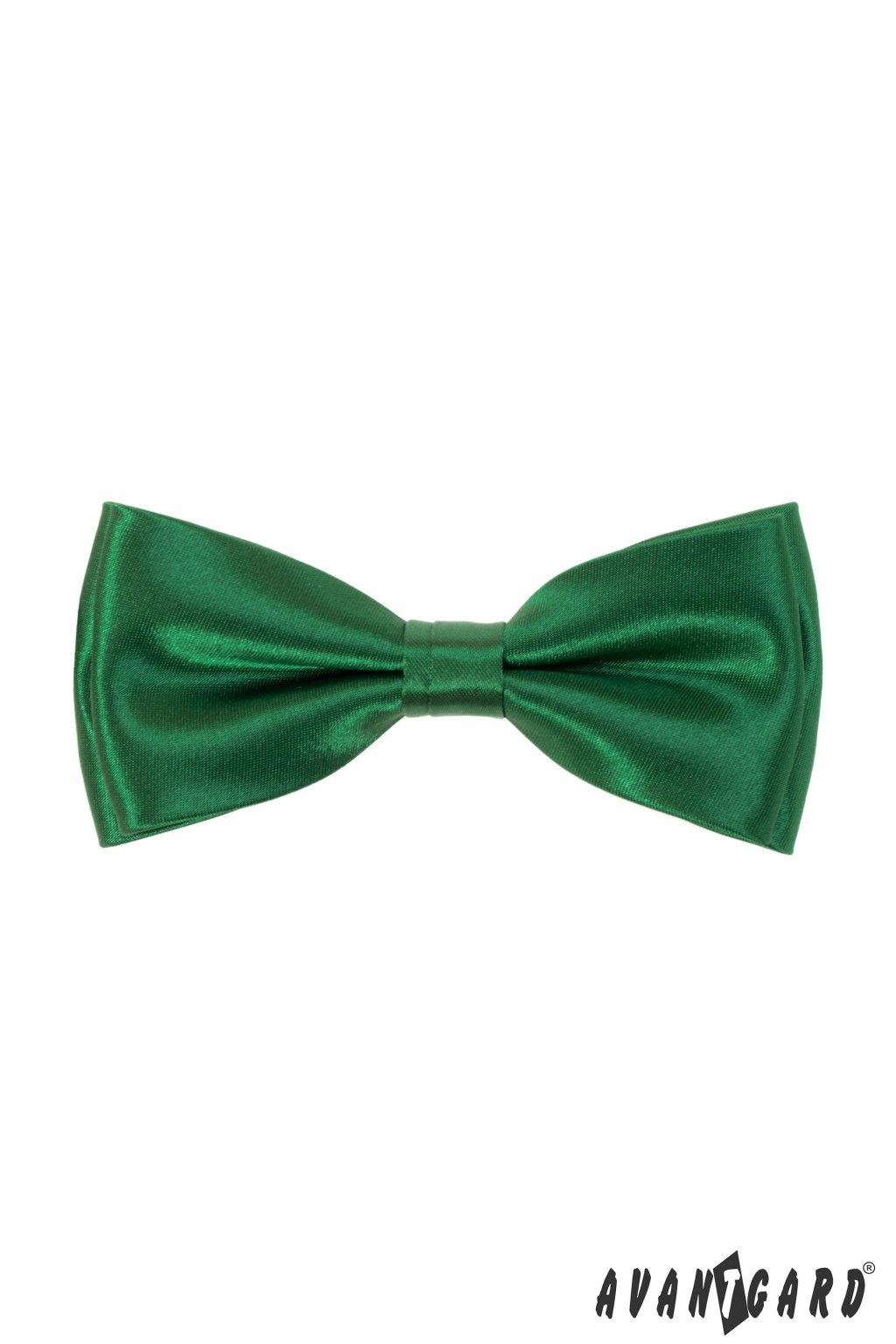 Motýlek s kapesníčkem, 575-9023, Zelená