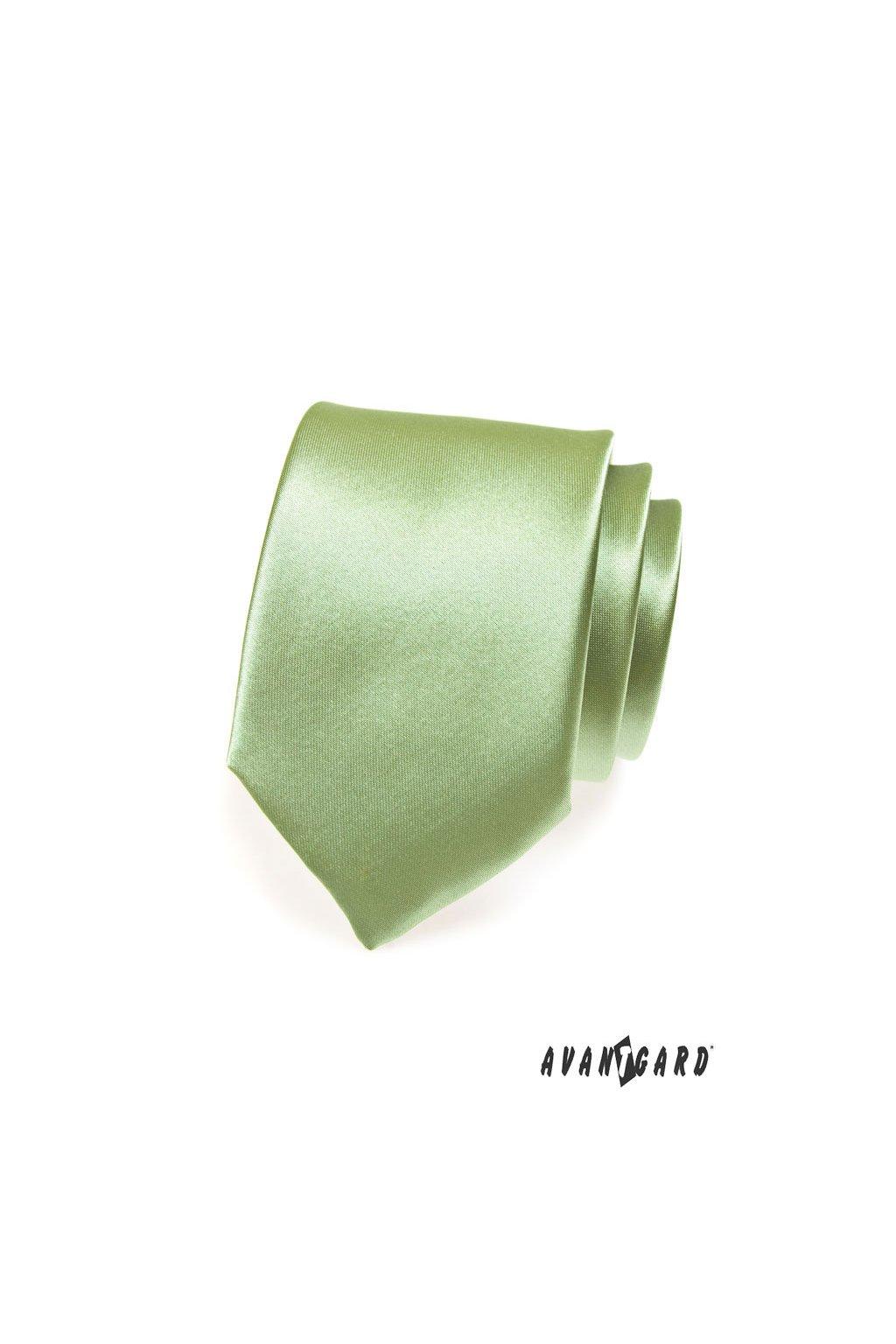 Kravata, 559-719, Zelená
