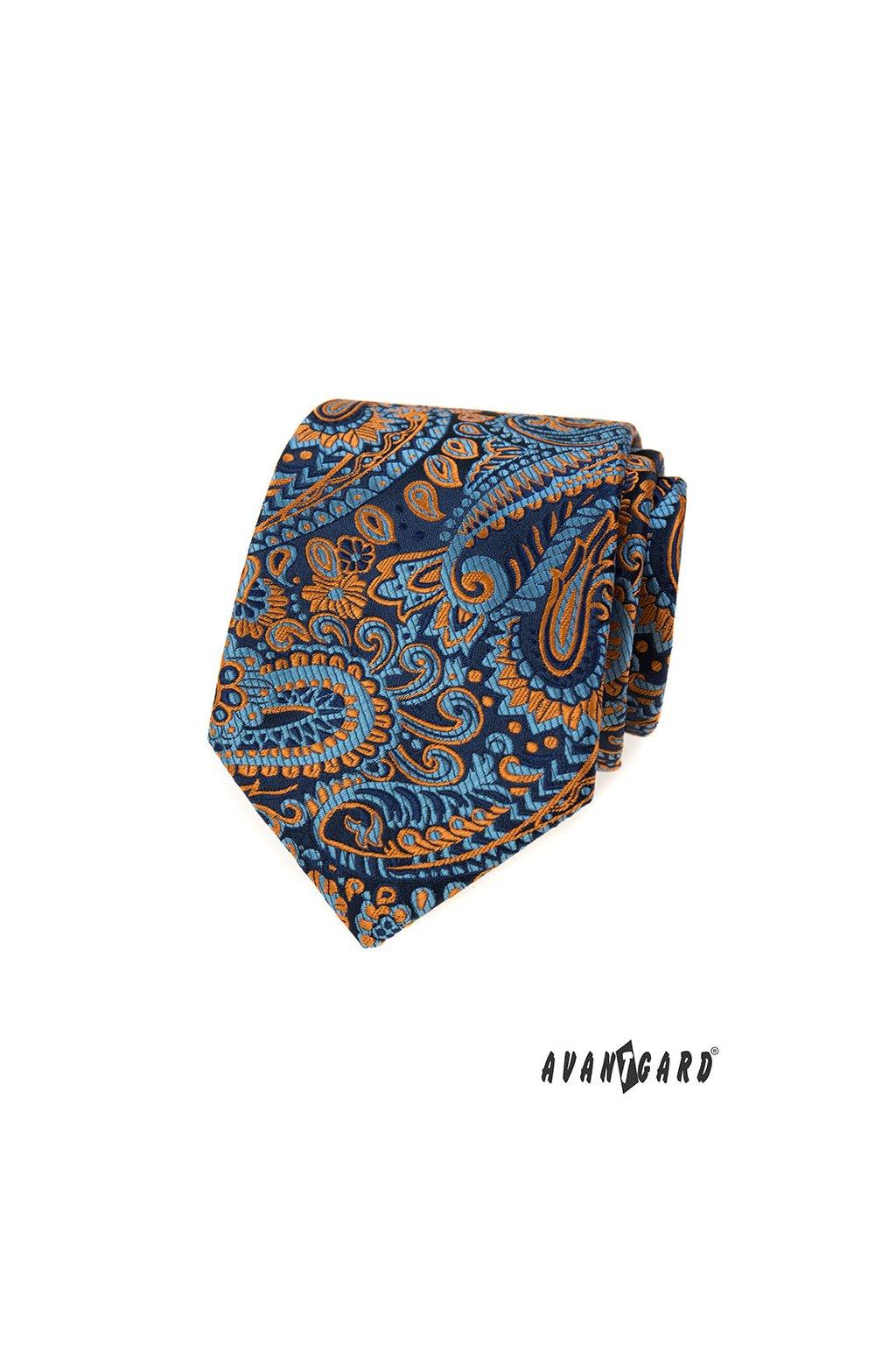Kravata LUX, 561-81320, Modrá