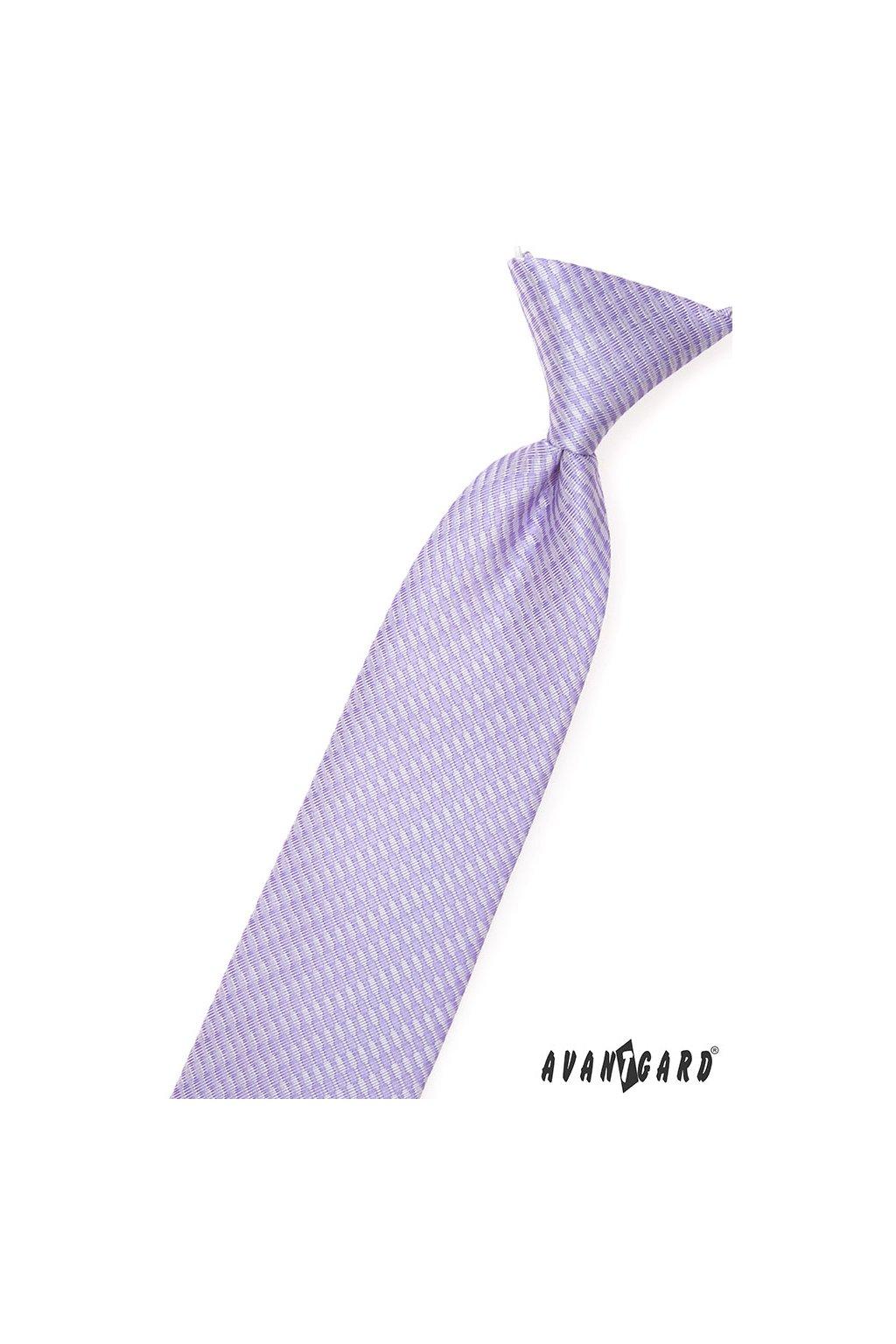 Chlapecká kravata, 558-9311, Lila