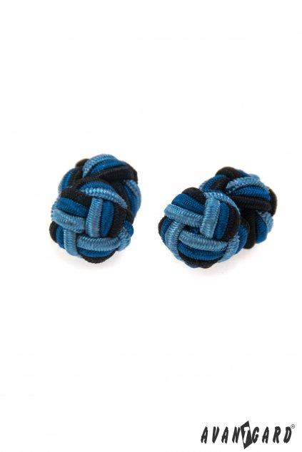 Knots - manžetové uzlíky, 614-3116, Modrá