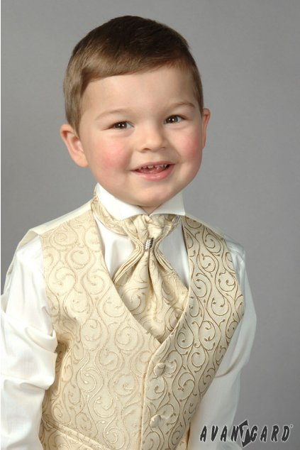 Chlapecká košile FRAKOVKA, 460-2, Smetanová