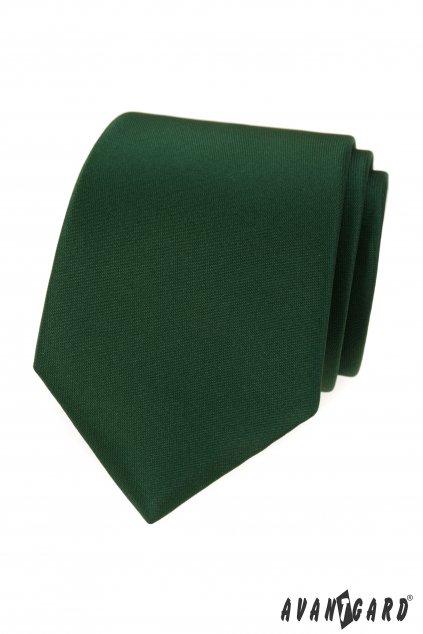 Kravata LUX, 561-9948, Zelená MAT