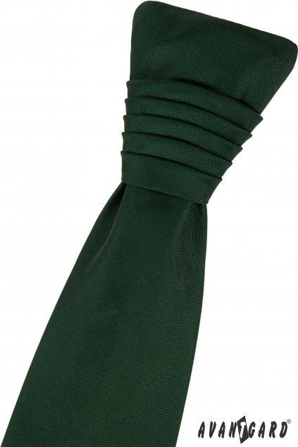 Regata PREMIUM a kapesníček, 577-9948, Zelená MAT