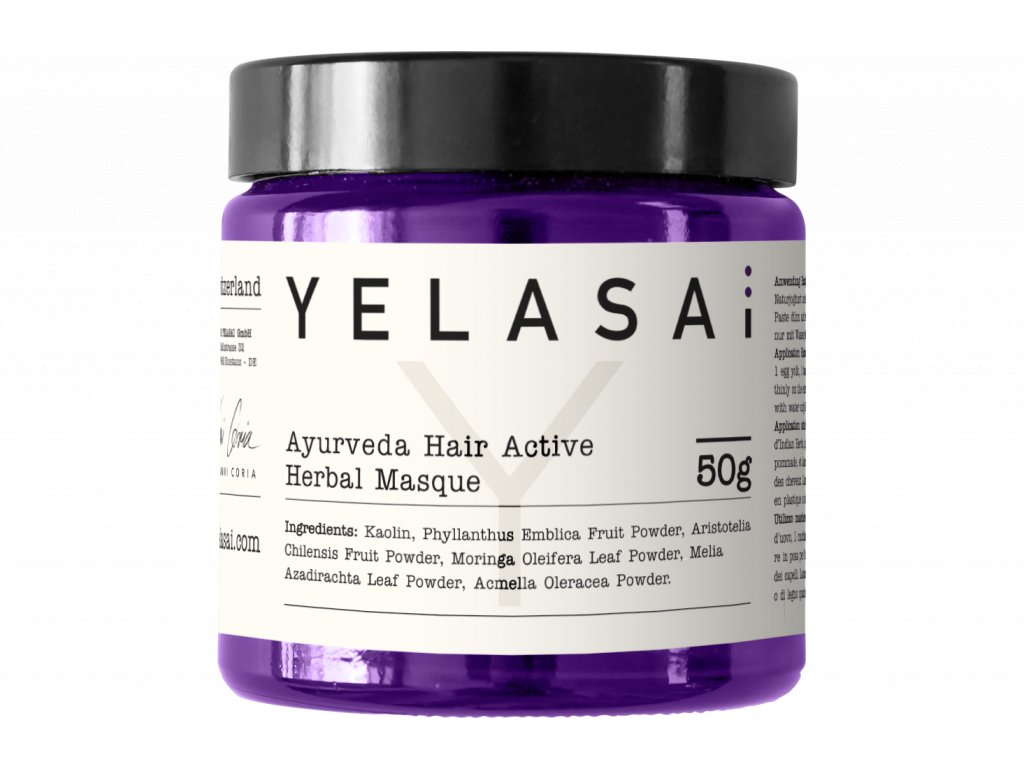 ayurveda hair active herbal masque 50g 2