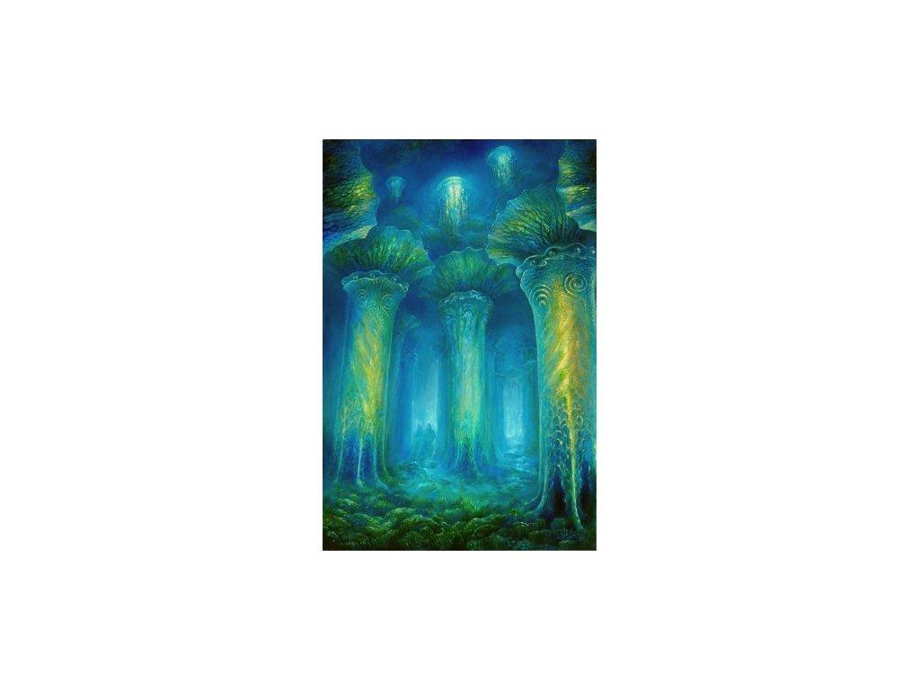 obraz chram ticha 90 x 60 cm
