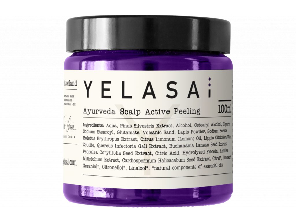 ayurveda scalp active peeling 100ml 1