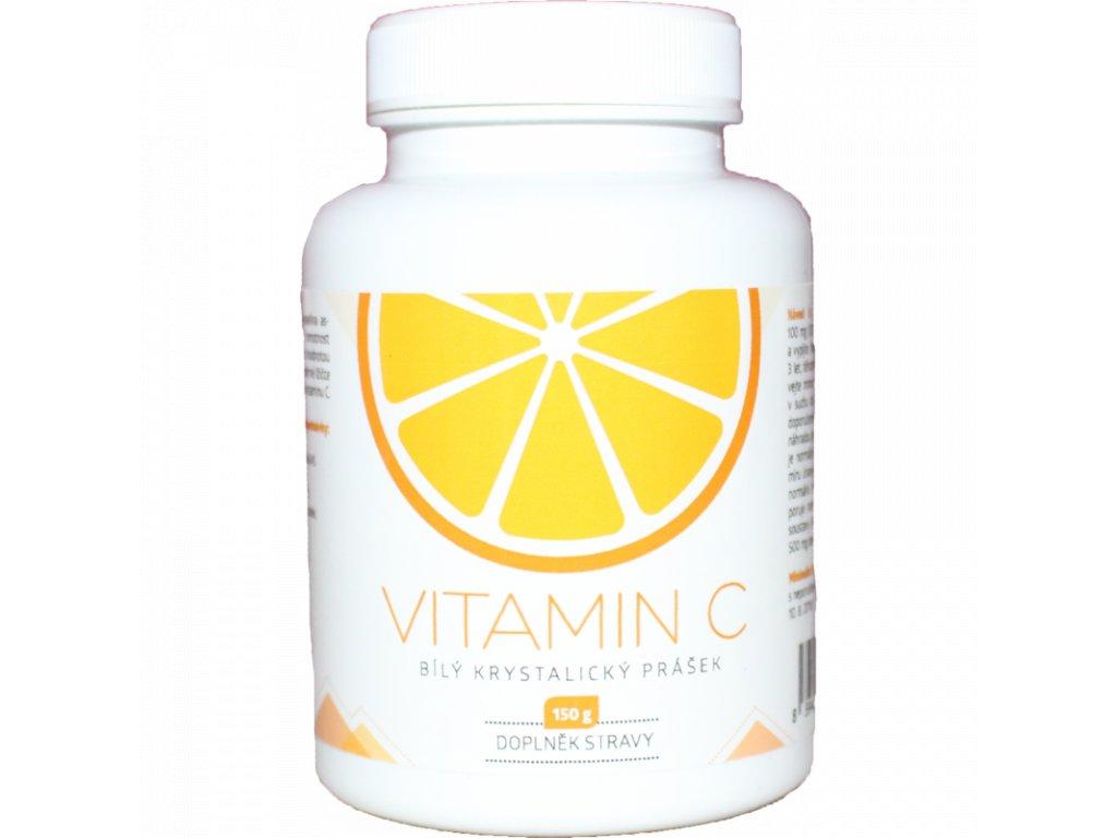 vitamin c 150g bily krystalicky prasek