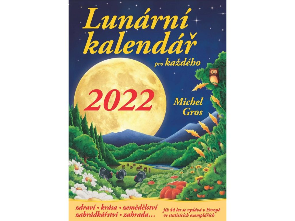 Lunární kalendář 2019 TITUL S