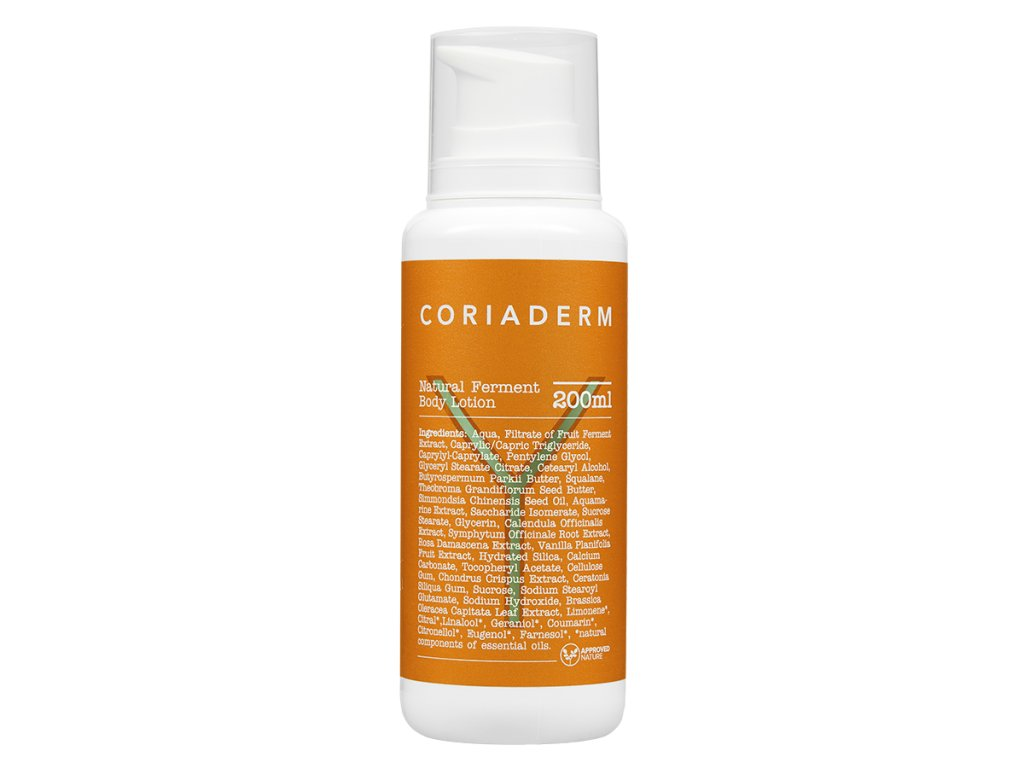 natural ferment body lotion coriaderm big