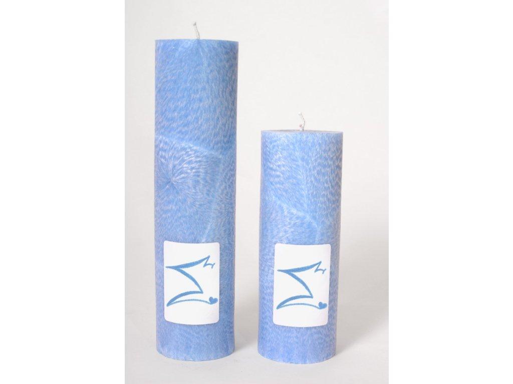 Archandělské svíce - větší, ruční výroba, 100% palmový vosk