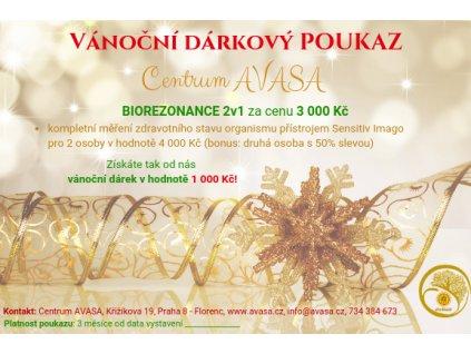 Vánoční dárkový poukaz Centra Avasa (1)