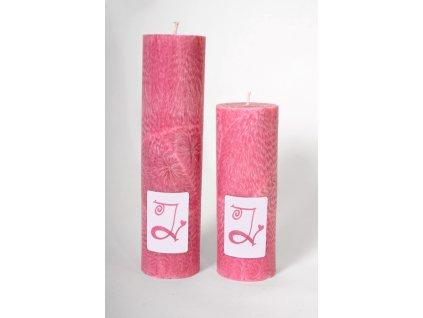 Archandělské svíce - menší, ruční výroba, 100% palmový vosk