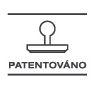 patentovano
