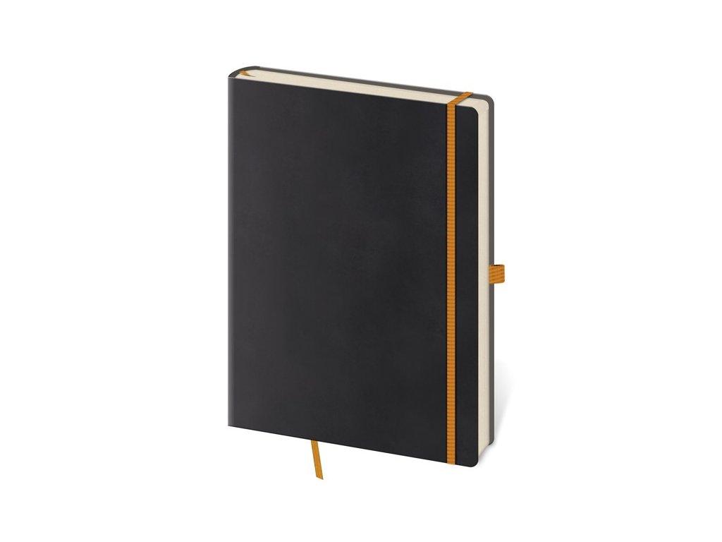 Zápisník Flexies M tečkovaný černý