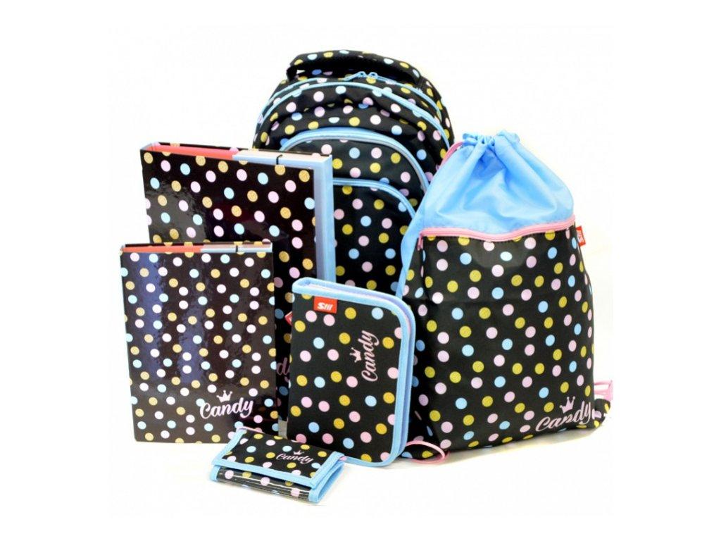 dd4c08fbd2b Školní set Candy Junior s dárkem + dárek dle vlastního výběru ...