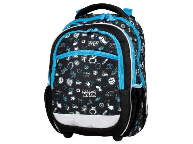 Školní batoh Scratch Wars s dárkem