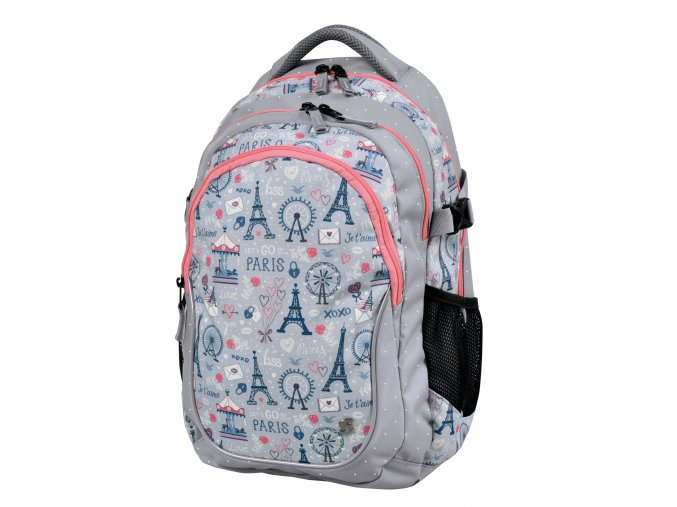 Studentský batoh Paris love s dárkem