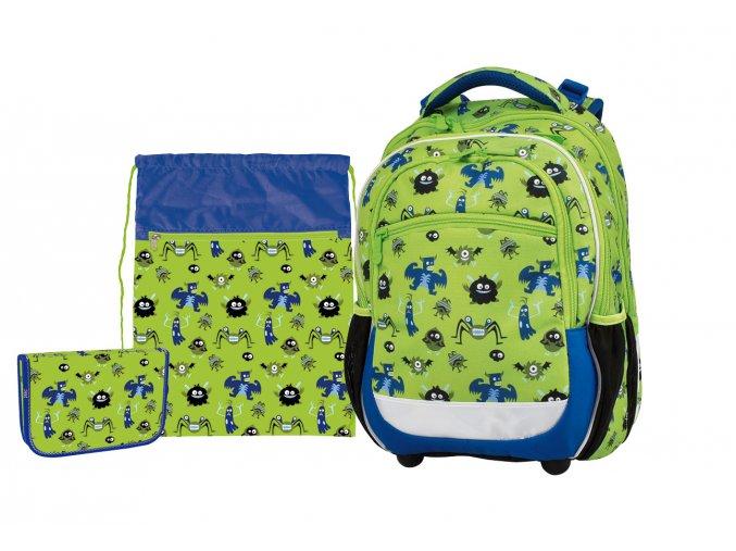 Školní set Junior Monsters s dárkem