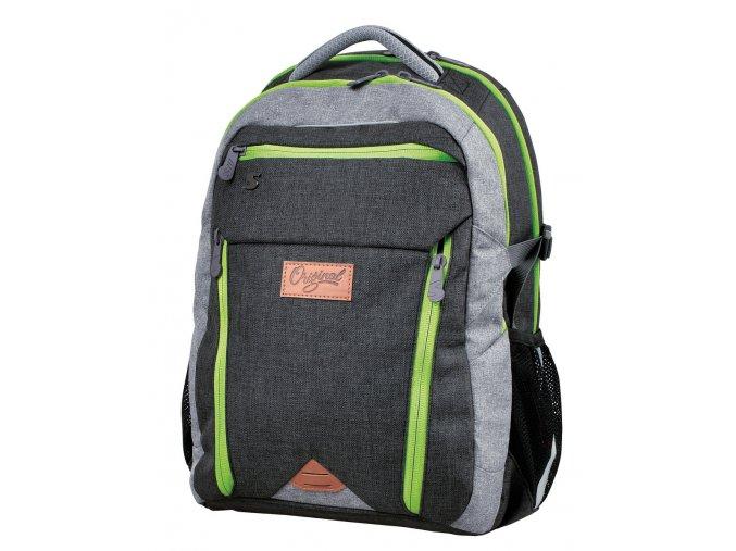 Studentský batoh Original green s dárkem dle vlastního výběru  + dárek dle vlastního výběru