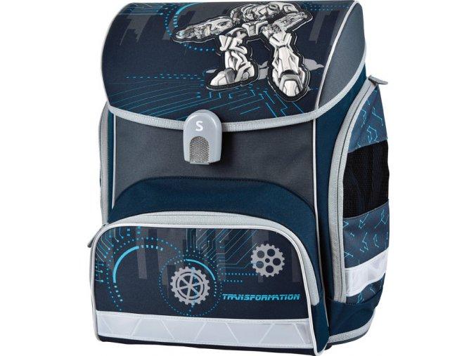 Školní aktovka T-robot  + zdarma dárek dle vlastního výběru