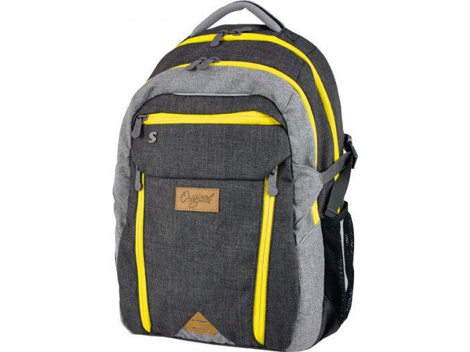 Studentský batoh Original neon s dárkem dle vlastního výběru  + zdarma dárek dle vlastního výběru