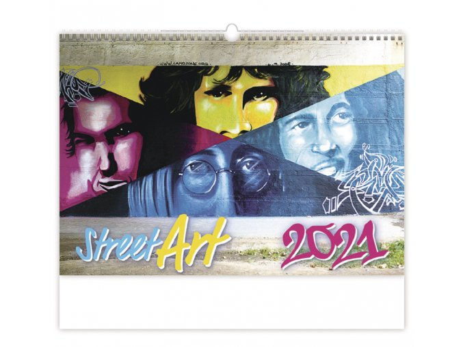 Kalendář Street Art