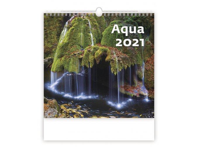 Kalendář Aqua