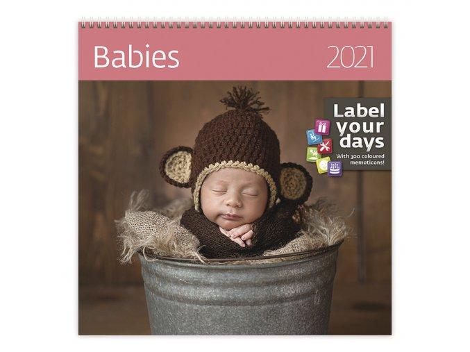 Kalendář Babies
