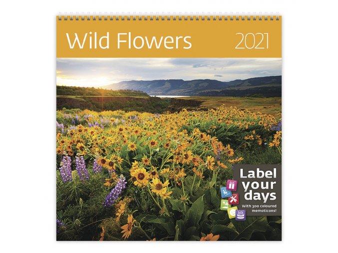 Kalendář Wild Flowers
