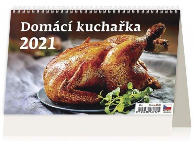 Kalendář Domácí kuchařka
