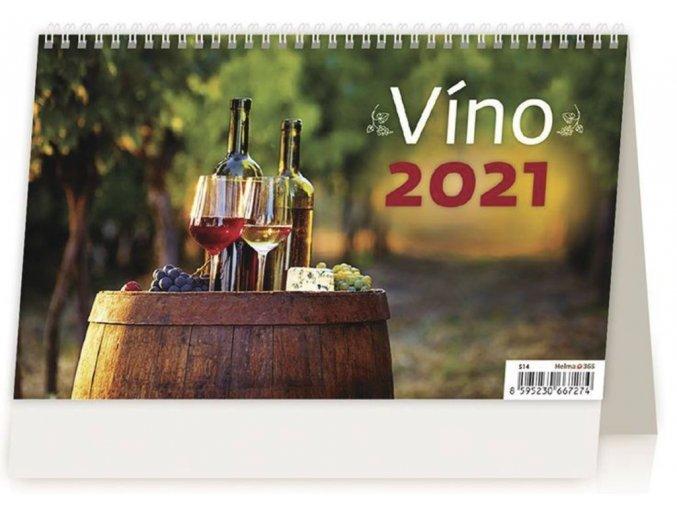 Kalendář Víno