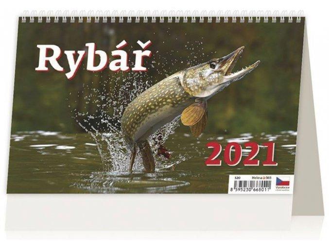Kalendář Rybář
